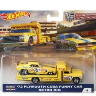 Hotwheels Team Transport