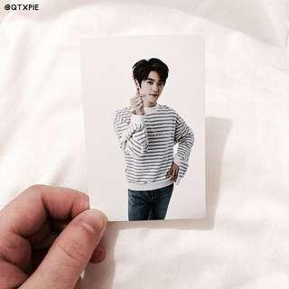 nct taeyong cheer event coex photocard