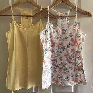 BUNDLE • Garage Tank Top M / Yellow / Floral