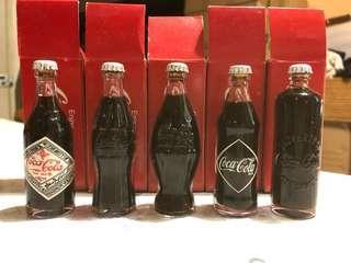 迷你可口可樂樽收藏品