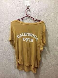 H&M mustard shirt