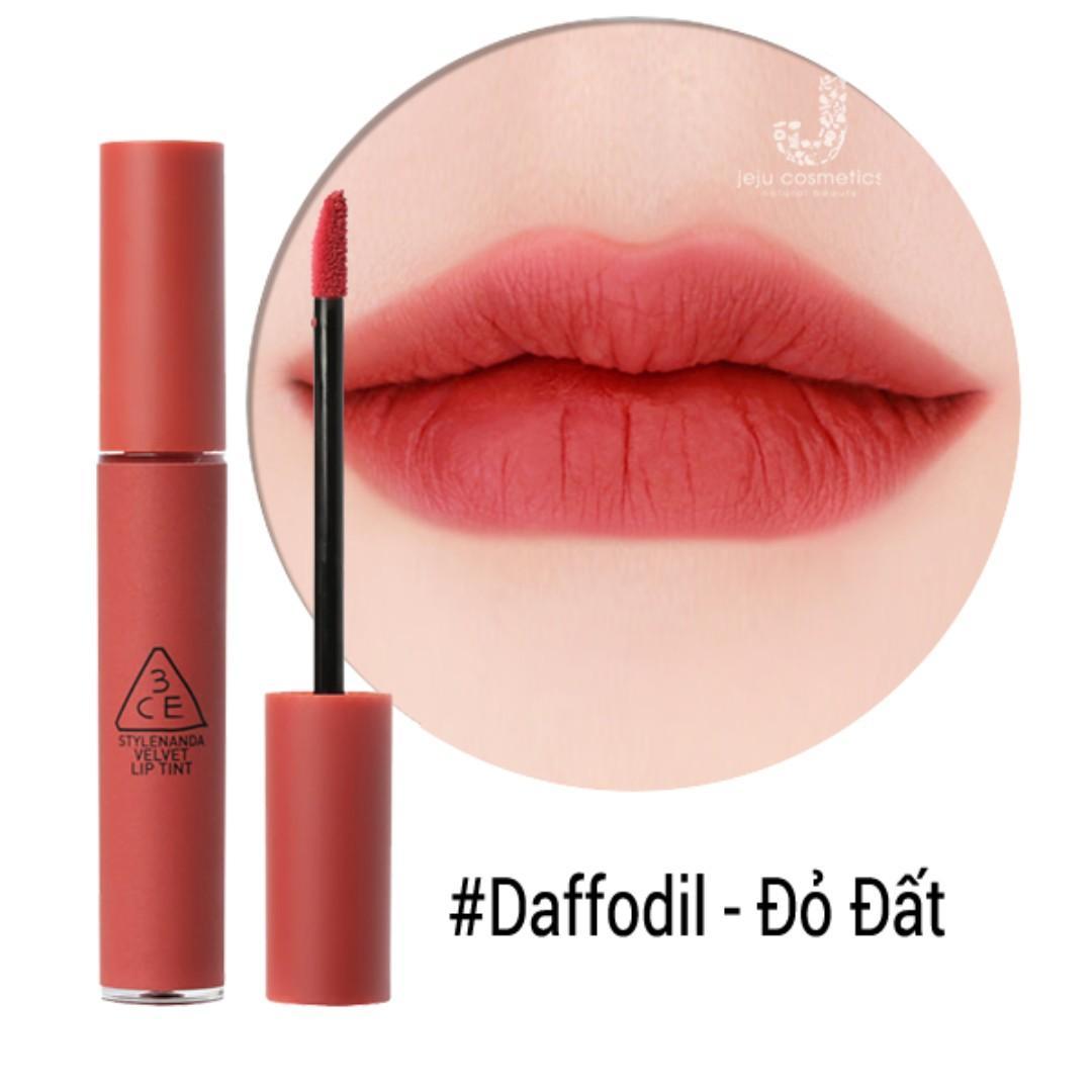 3CE #Daffodil Velvet Lip Tint