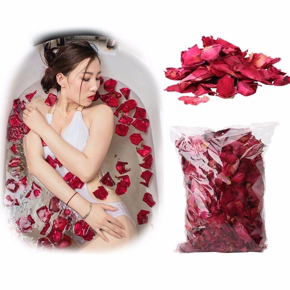 50g/bag Dry Rose Petal Natural Flowers Spa