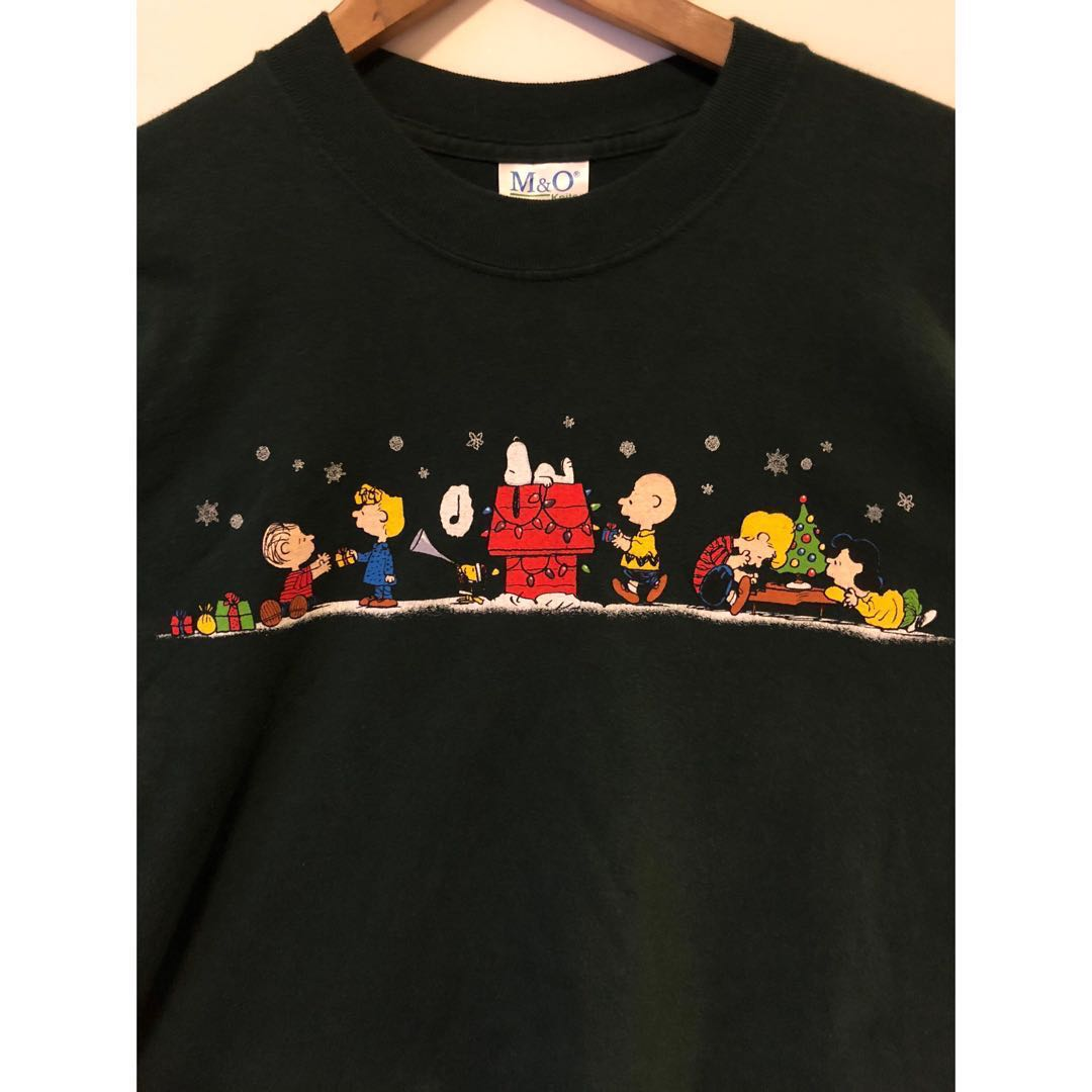 1719712023b0 ( SOLD ) Vintage Snoopy Size L Tee T-Shirt
