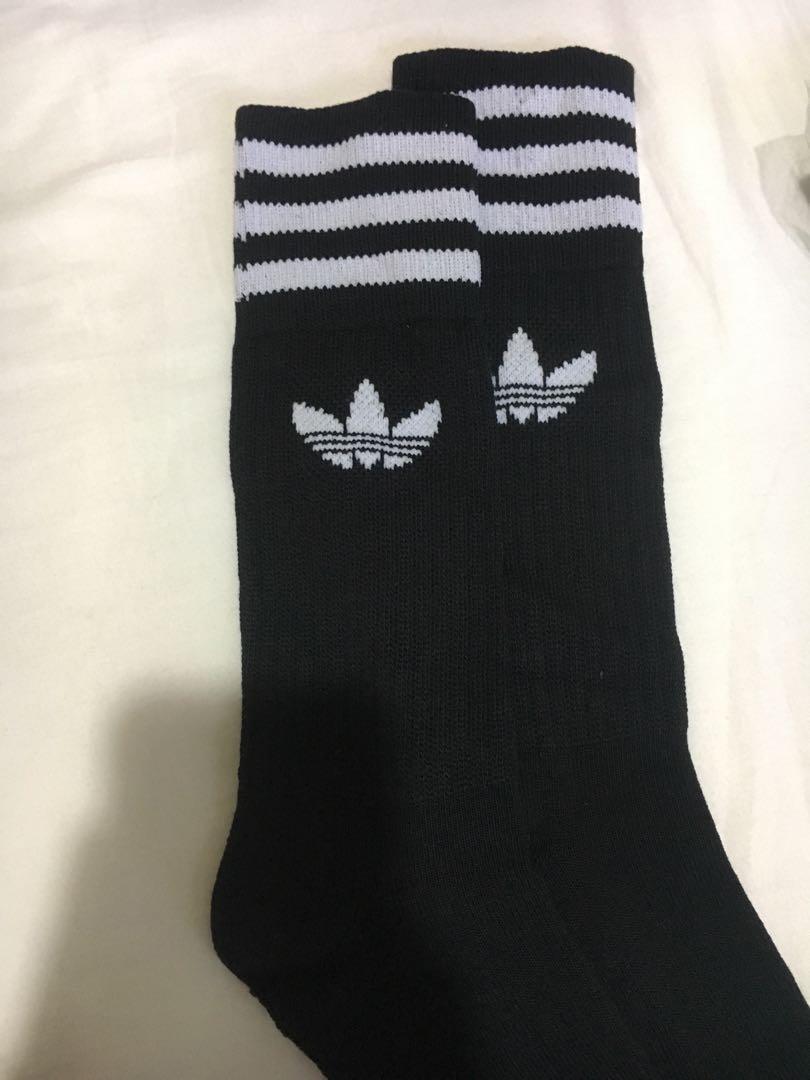 Adidas Original Long Crew Sock Sports Sports Apparel On Carousell
