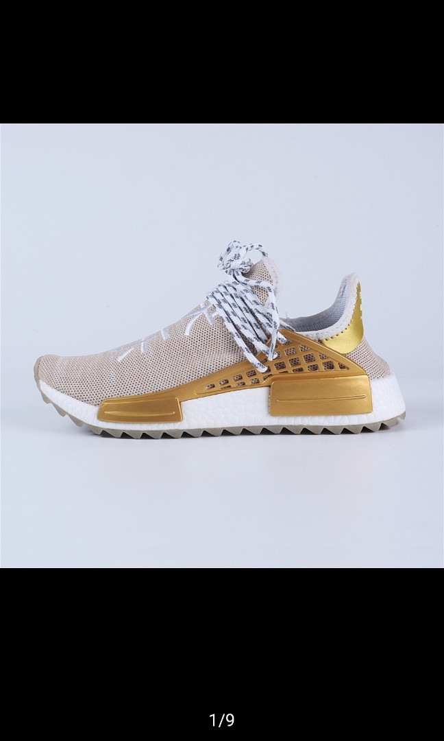 b657b389b1e59 Adidas x Pharrell Williams Human Race China Exclusive gold