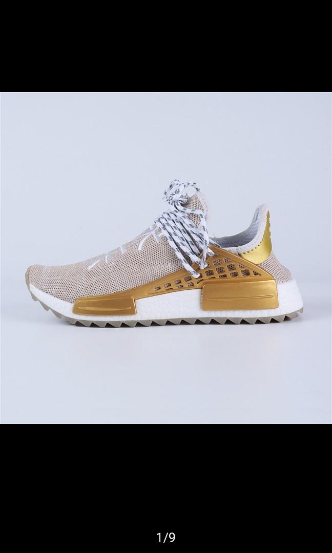 2f1cc8a7ea83e Adidas x Pharrell Williams Human Race China Exclusive gold