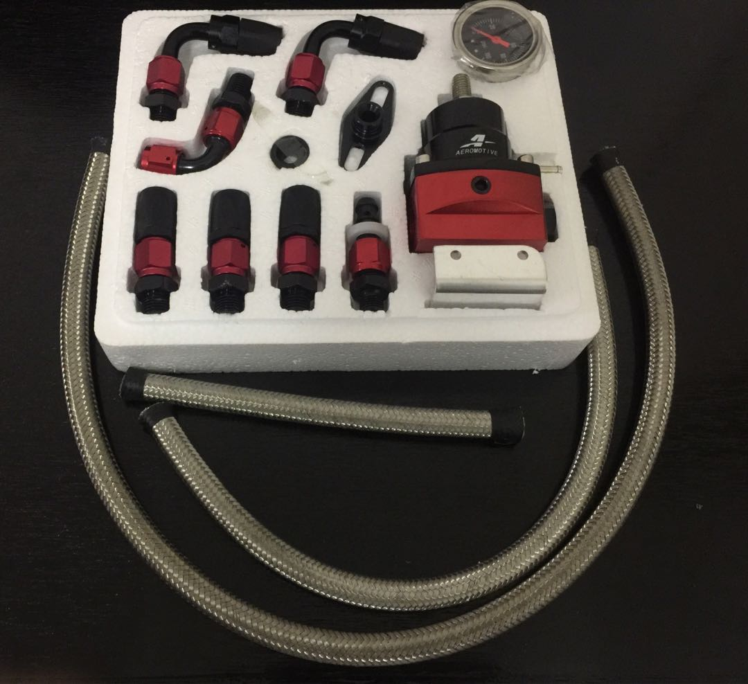 Aeromotive Fuel Regulator Full Kits With Braided Hose And Plug Wire Harness Sockets Auto Accessories On Carousell