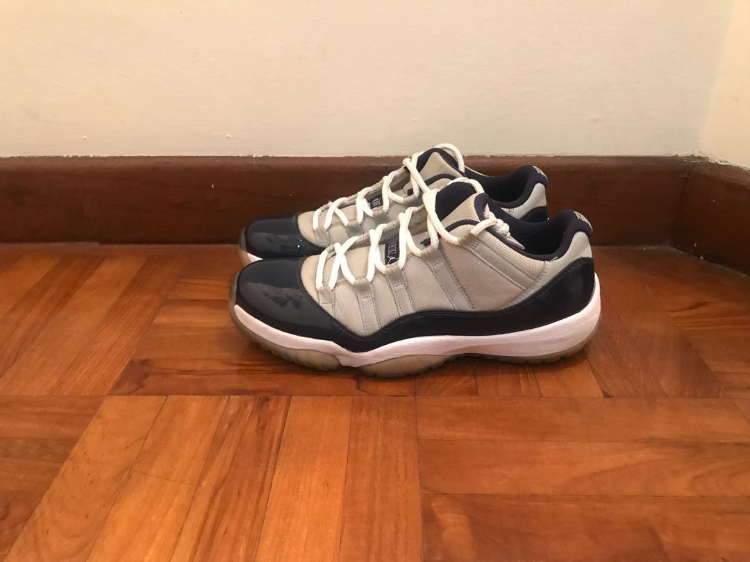 "9e9c23b4dfb Air Jordan 11 Low ""Georgetown"", Men's Fashion, Footwear, Sneakers on ..."