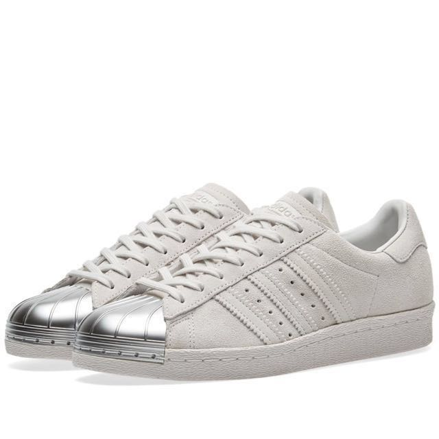 c84d60ba8fd8 Authentic - Adidas Superstar 80s Metal Toe w suede grey silver ...
