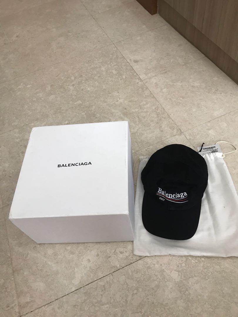 Authentic Balenciaga Cap, Men's Fashion