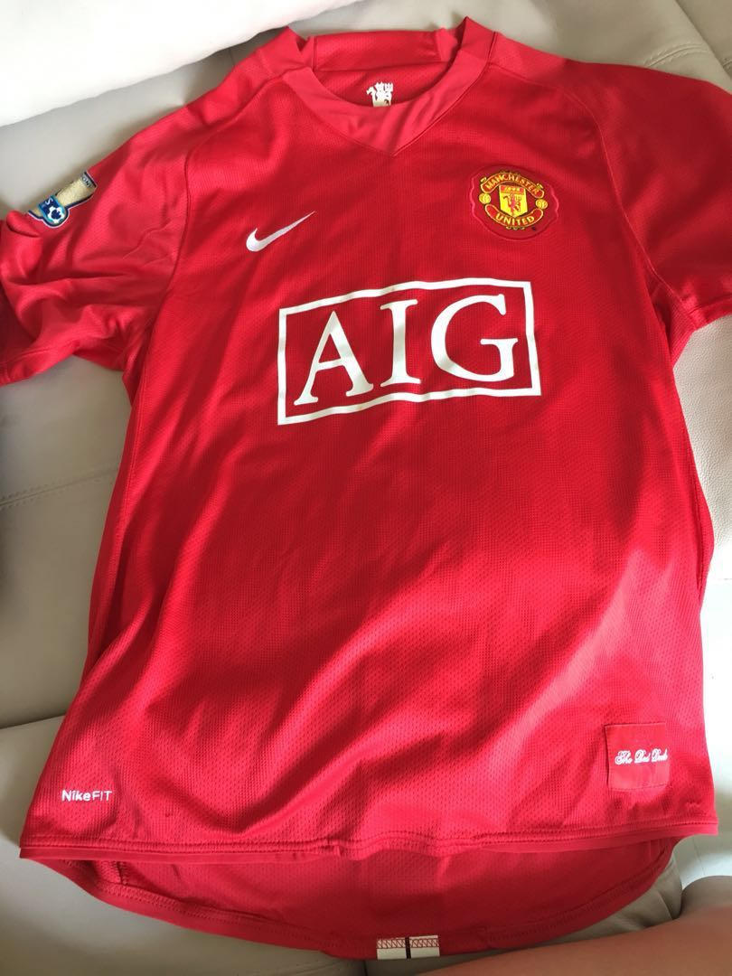 db4afe85684 Authentic Nike Manchester United Jersey