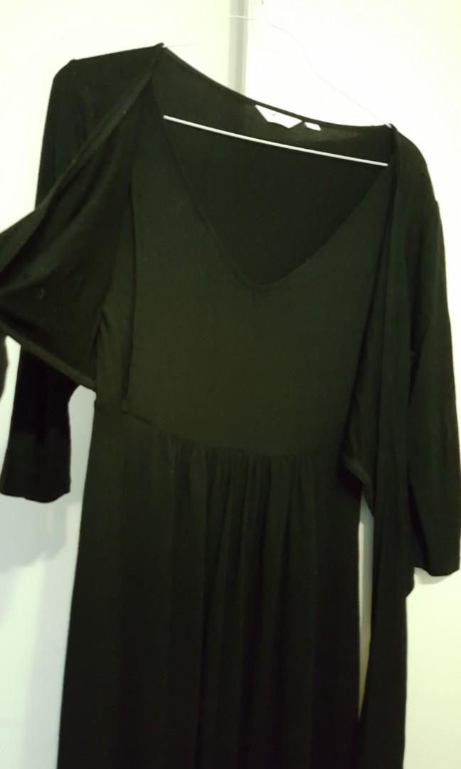 Black dress for maternity &nursing