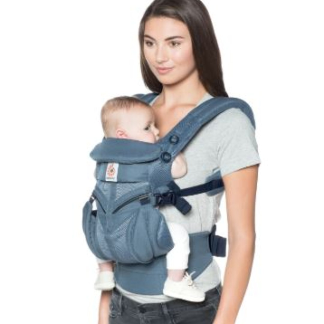 5f3f92ce89f BN Ergobaby Omni 360 Baby Carrier All-In-One Cool Air Mesh - Oxford ...