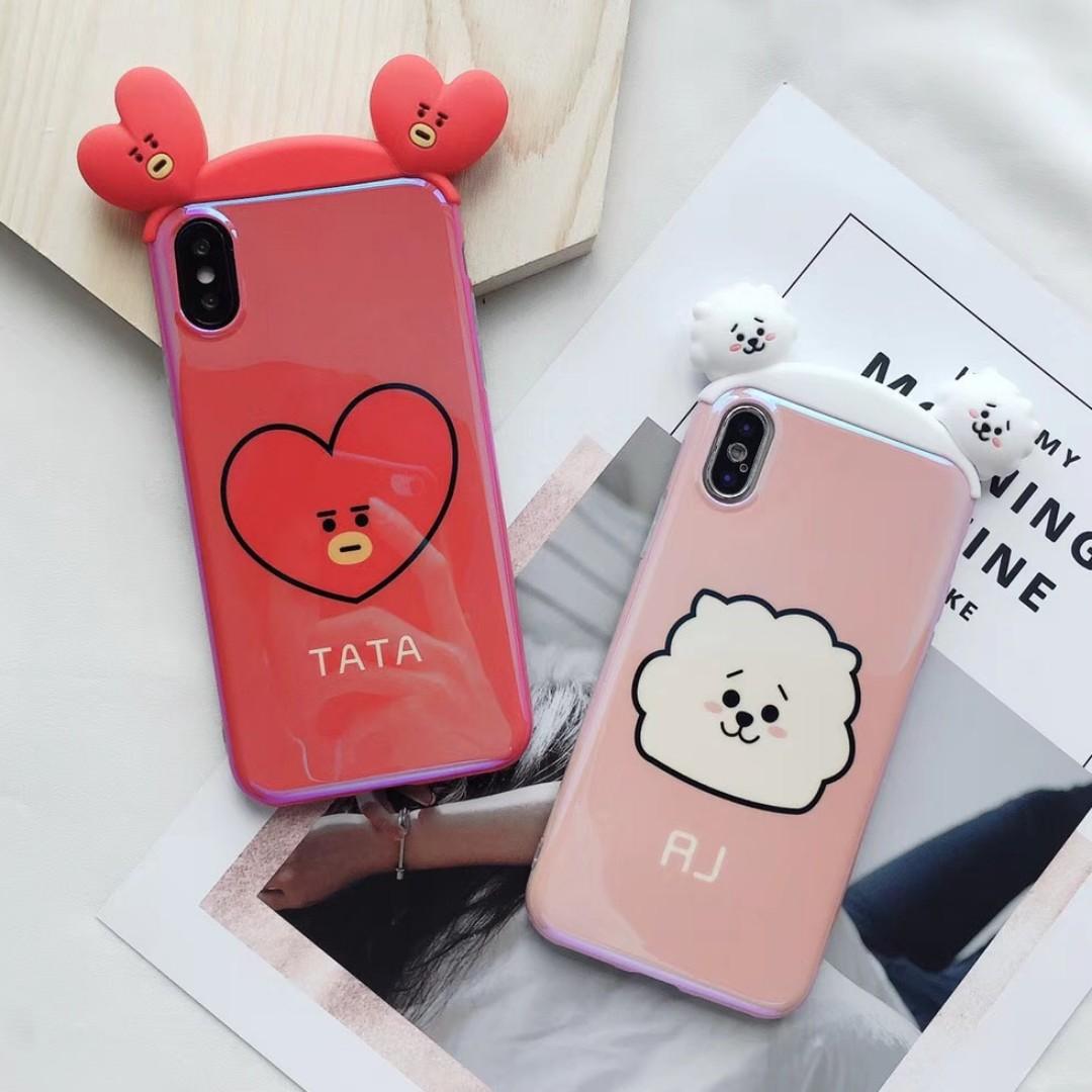 best cheap 7750e 7b363 BT21 iPhone Phone Case Cooky RJ Tata