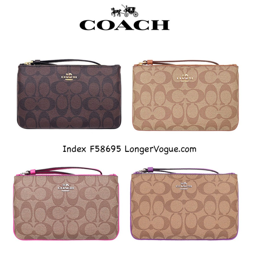 ccd92ecabae2 Coach Large Wristlet F58695