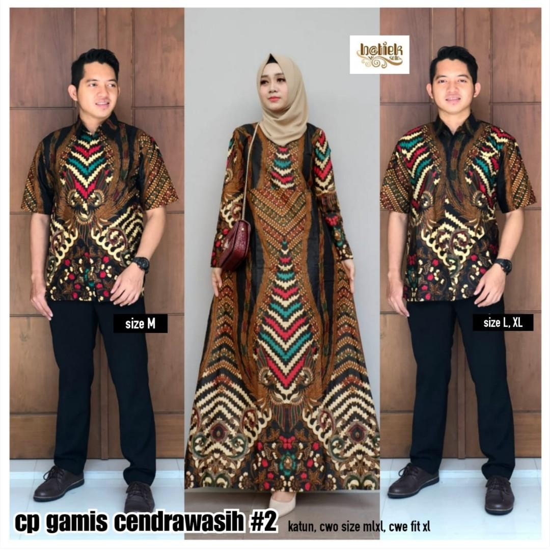 Couple Batik Dress Panjang Women S Fashion Women S Clothes