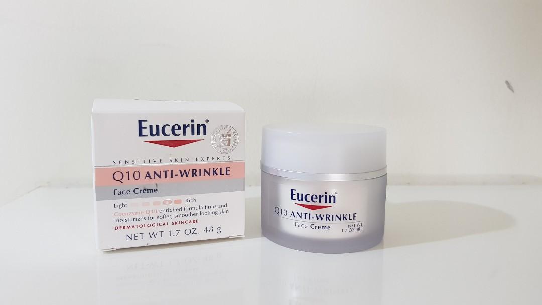 10aa676200f Eucerin Q10 Anti-Wrinkle Facial Cream