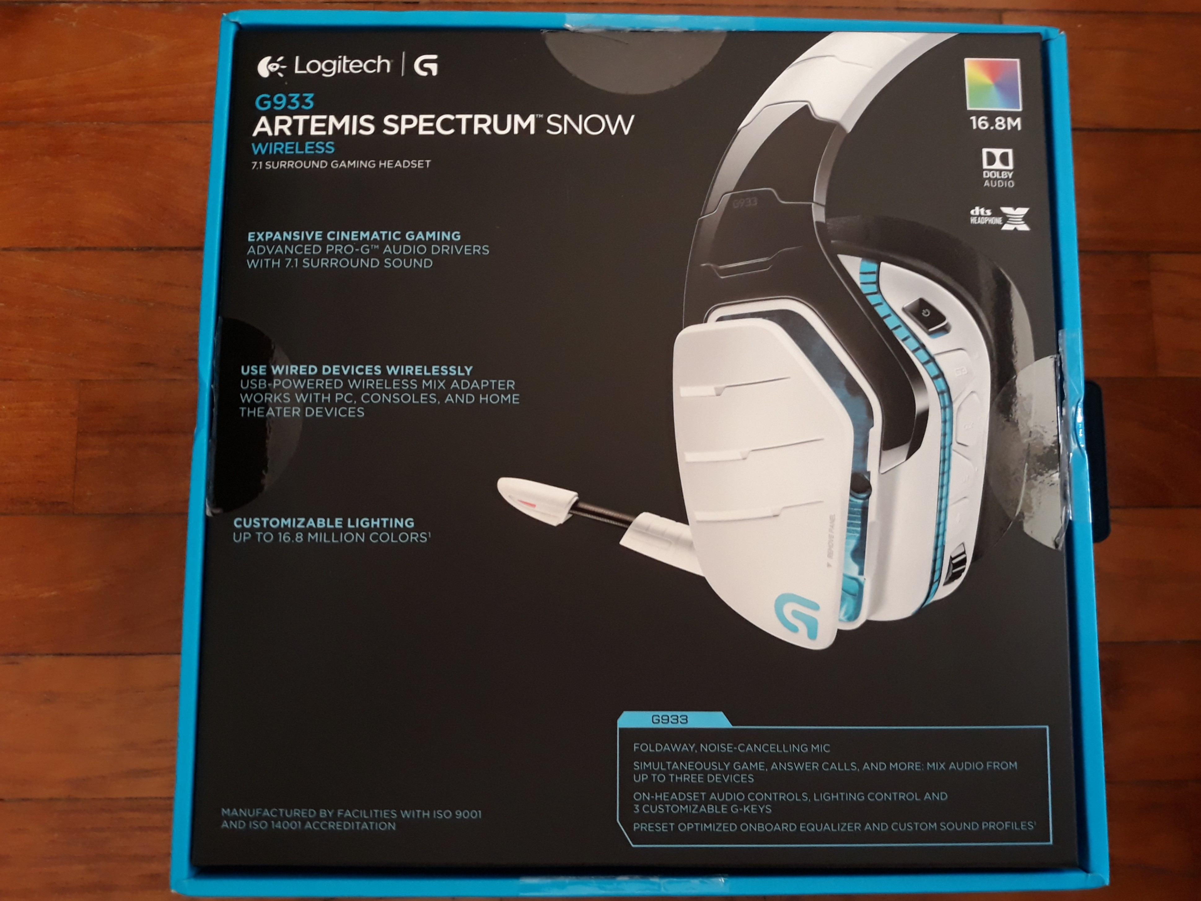 Gaming Headset Logitech G933 Artemis