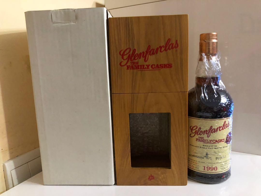 Glenfarclas Family Casks 1990 單桶 700ml