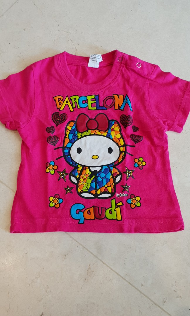 0fcceb799 Hello kitty top and onesie 6m, Babies & Kids, Babies Apparel on Carousell