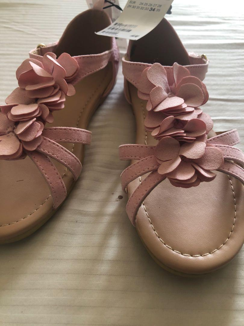 H&M pink Sandals Brand New with Tag