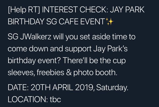 Jay Park Birthday Event Apr 2019, Entertainment, K-Wave on Carousell