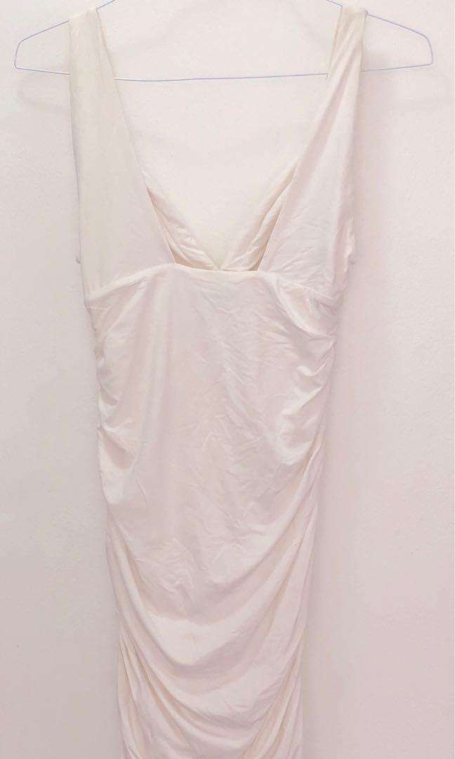Kookaï White fitted dress