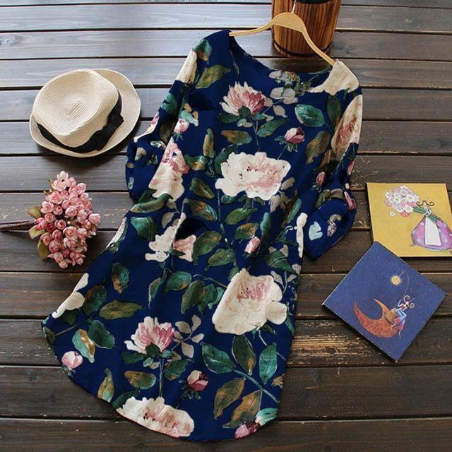 Loose Beach Long Dress