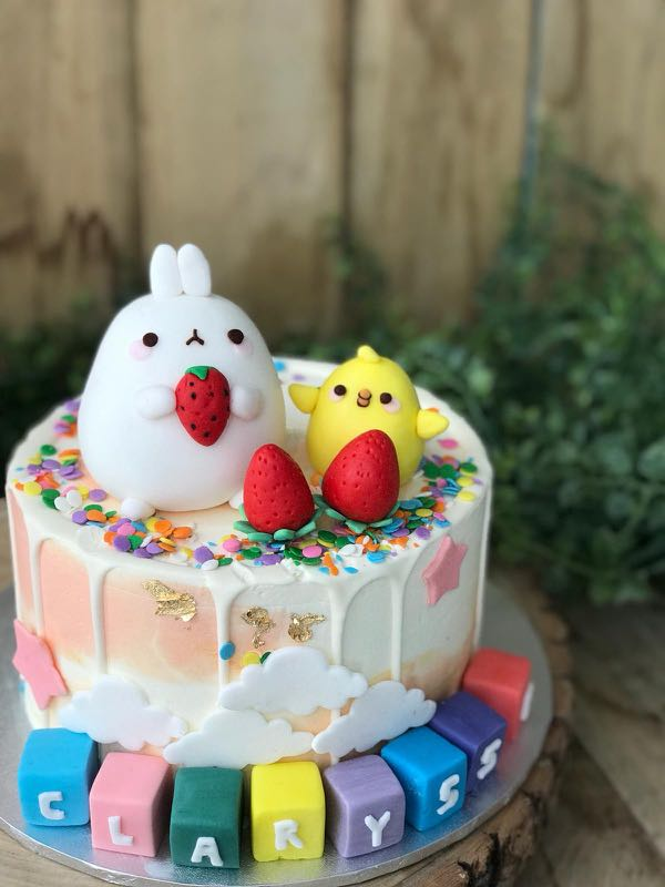 Molang Piu Piu Cake Kids Birthday Cake Customised Cakes Free