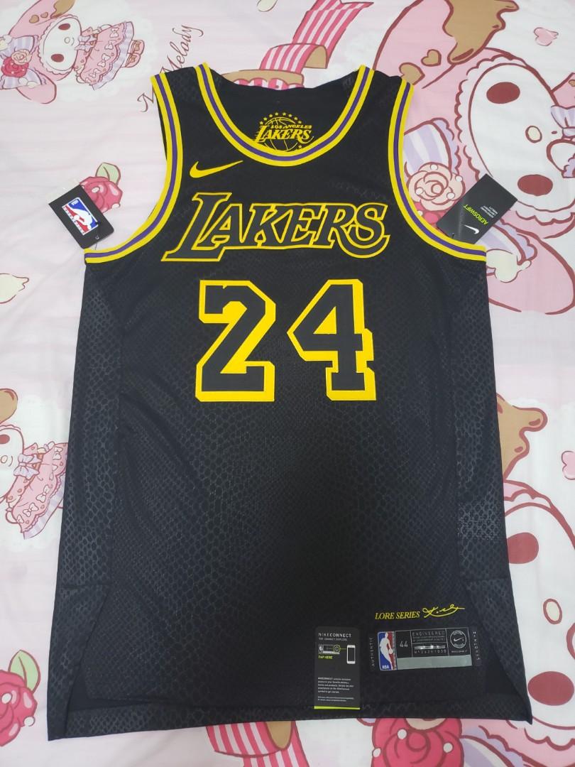 182c1f4a3 NBA Kobe Bryant CITY EDITION JERSEY AU SIZE 44 M