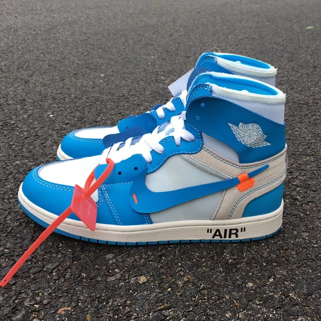 50b34b5b9c70 Nike Air Jordan 1 UNC x Off-White