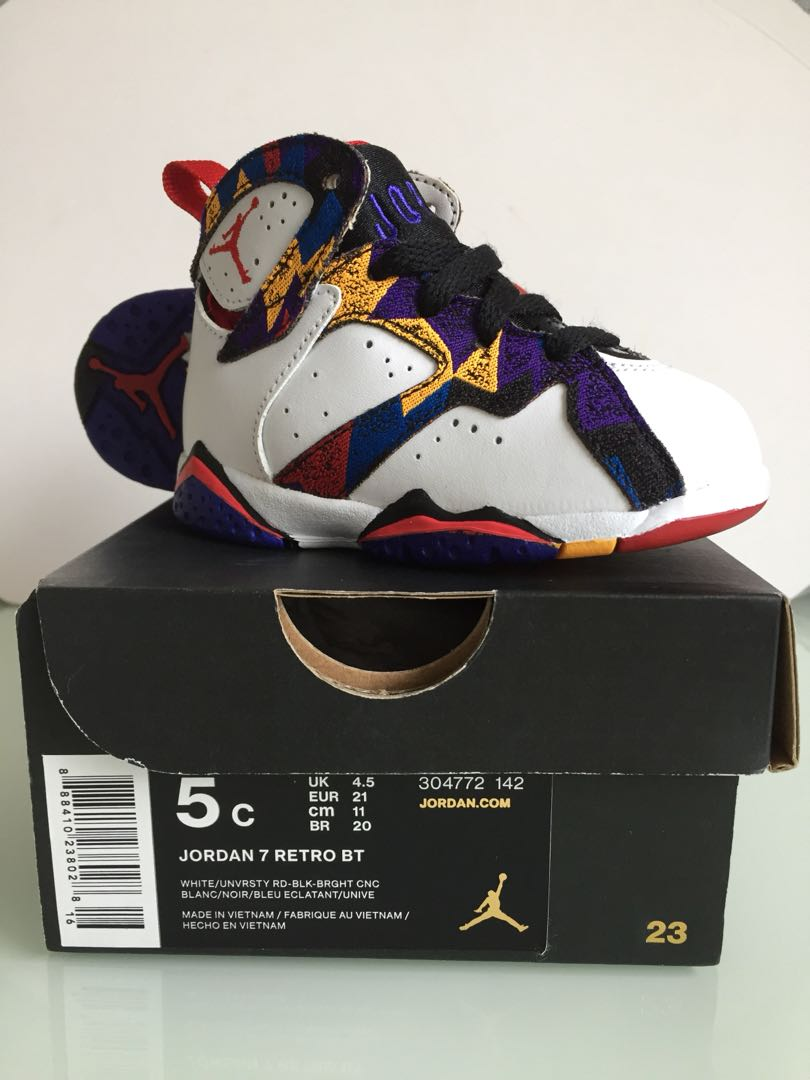e4f4c01a846234 Nike baby Jordan 7 - baby shoes (100% authentic