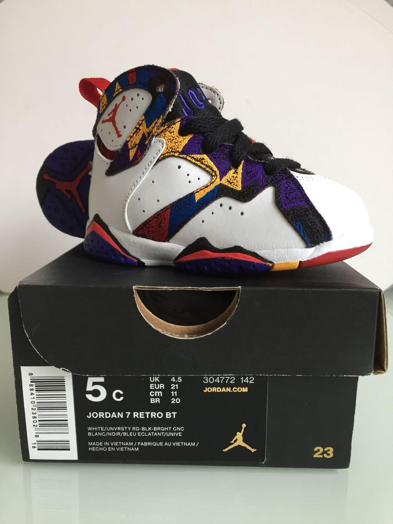 Nike baby Jordan 7 - baby shoes (100% authentic, brought