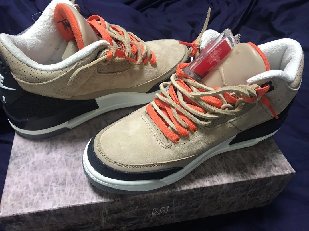 detailed look aebf1 905c7 Nike Jordan 3 JTH Bio Beige SZ 8, Men's Fashion, Footwear ...