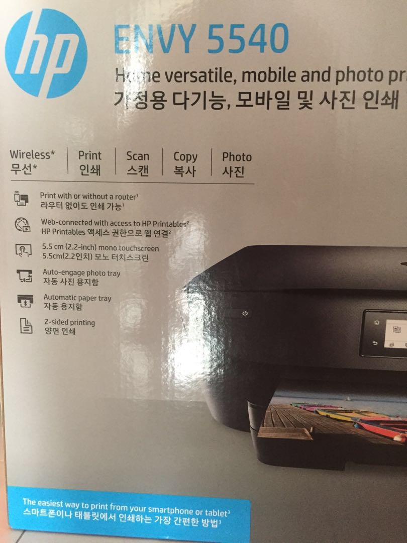 Printer Hp Envy 5540