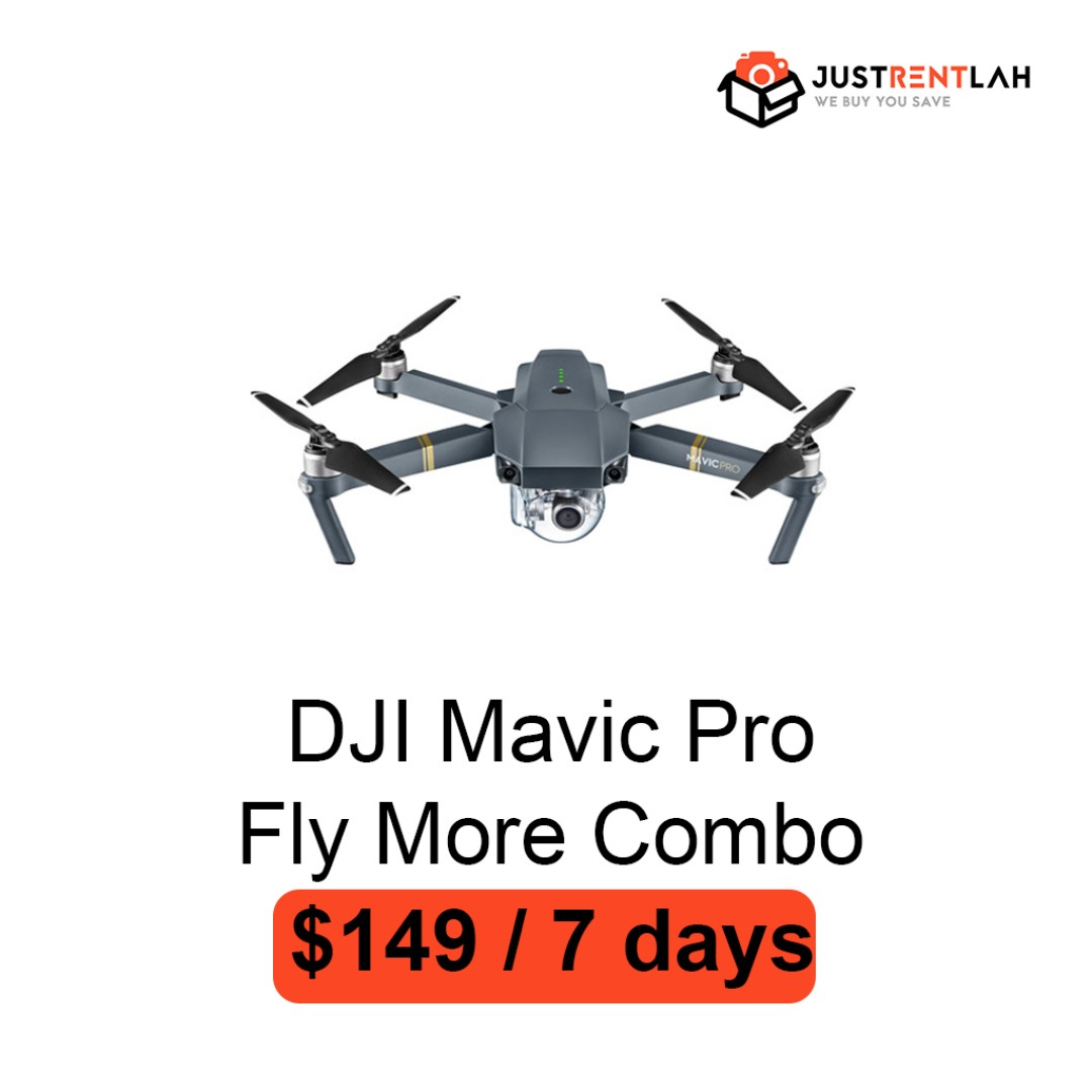 c648be530d2 RENT] DJI Mavic Pro (Fly More Combo), Photography, Drones on Carousell