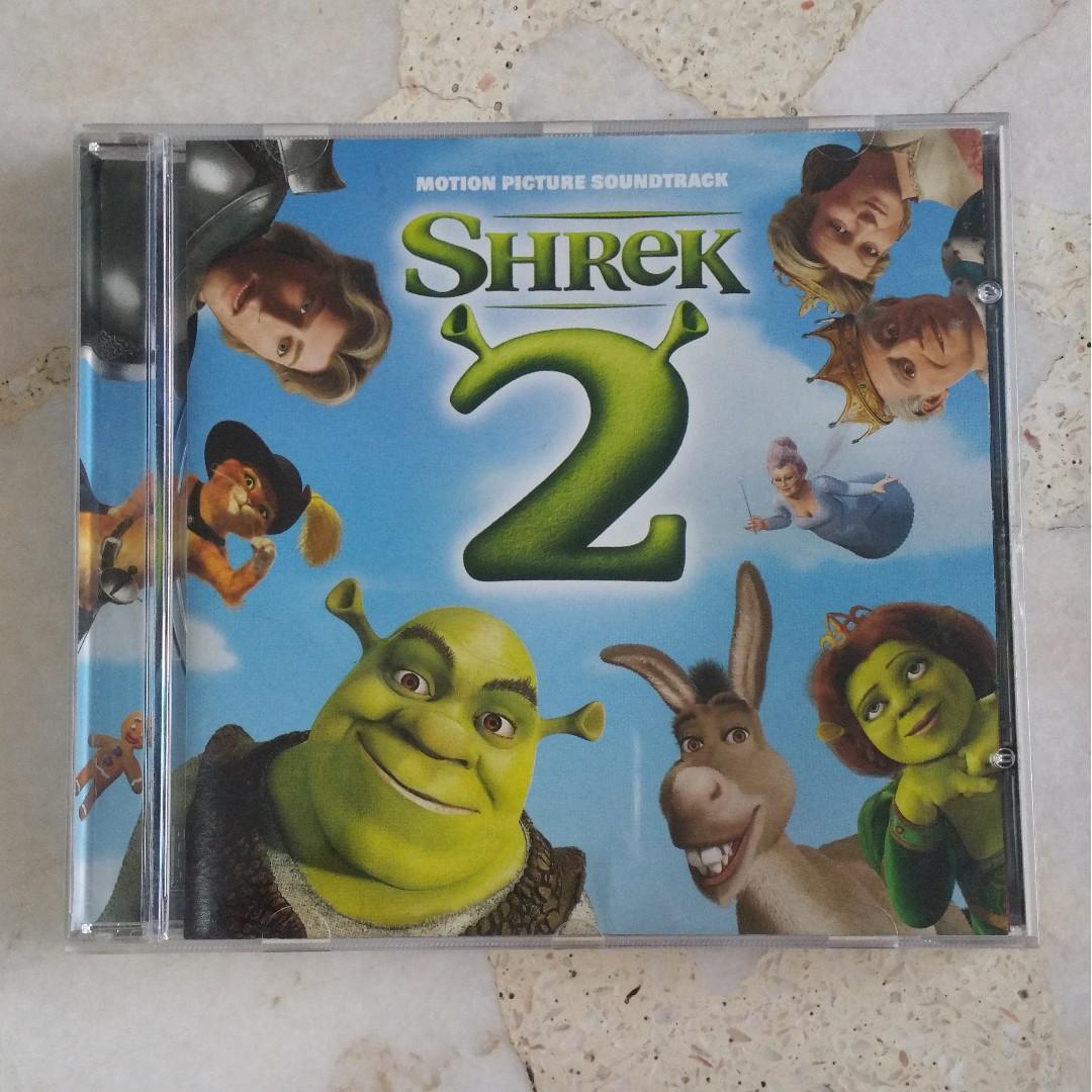 Shrek 2 Movie Music Cd Soundtrack Music Media Cds Dvds Other Media On Carousell
