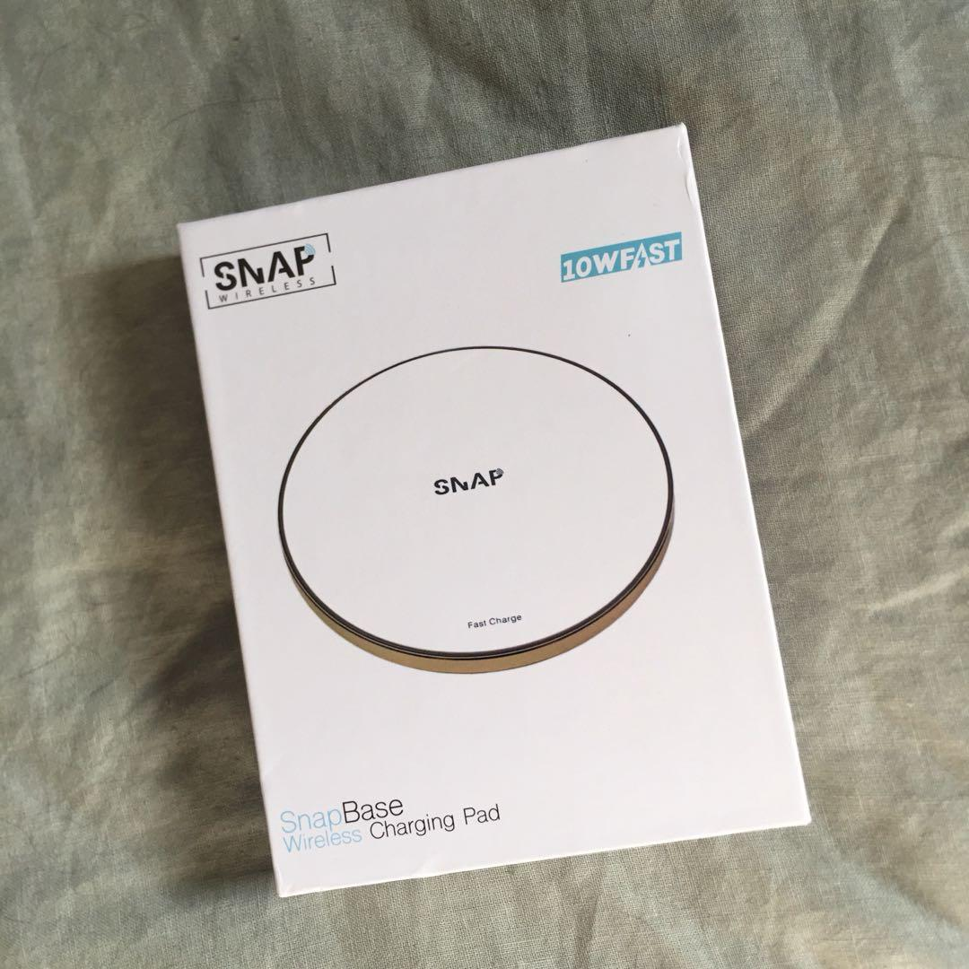 Snap Wireless Charger white