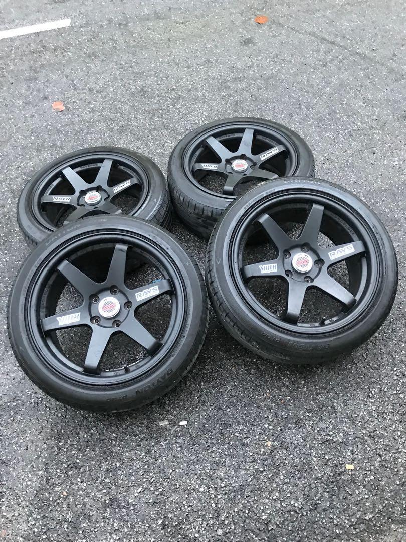Te37sl 17 inch sports rim civic fb tyre 80%. Padooo madooo