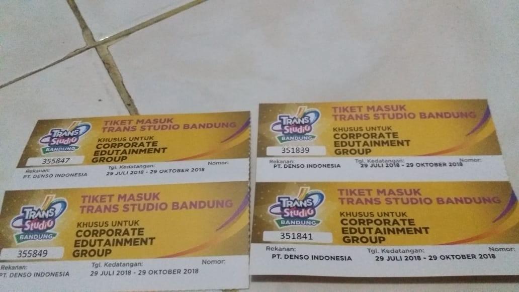 Tiket Trans Studio Bandung Tickets Vouchers Events