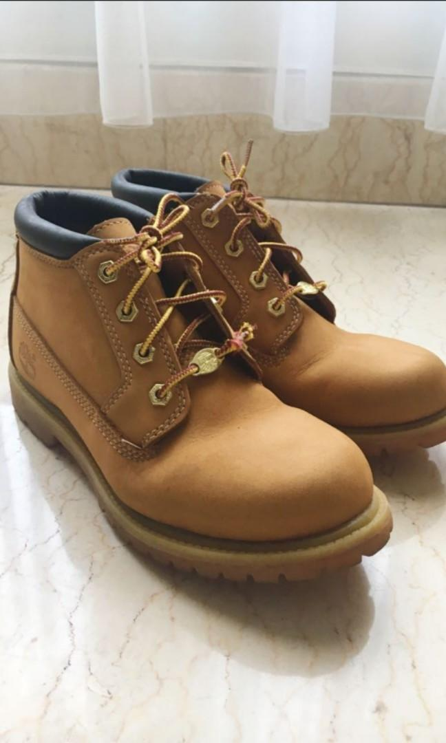 new specials factory price wholesale sales Timberland Chukka Boots Waterproof 38.5, Women's Fashion ...
