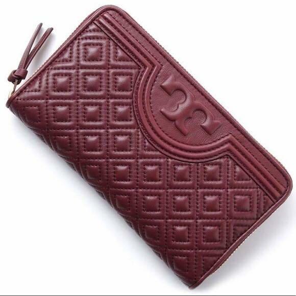 d57b7e11d6 Tory Burch Fleming Zip Continental Wallet, Luxury, Bags & Wallets ...