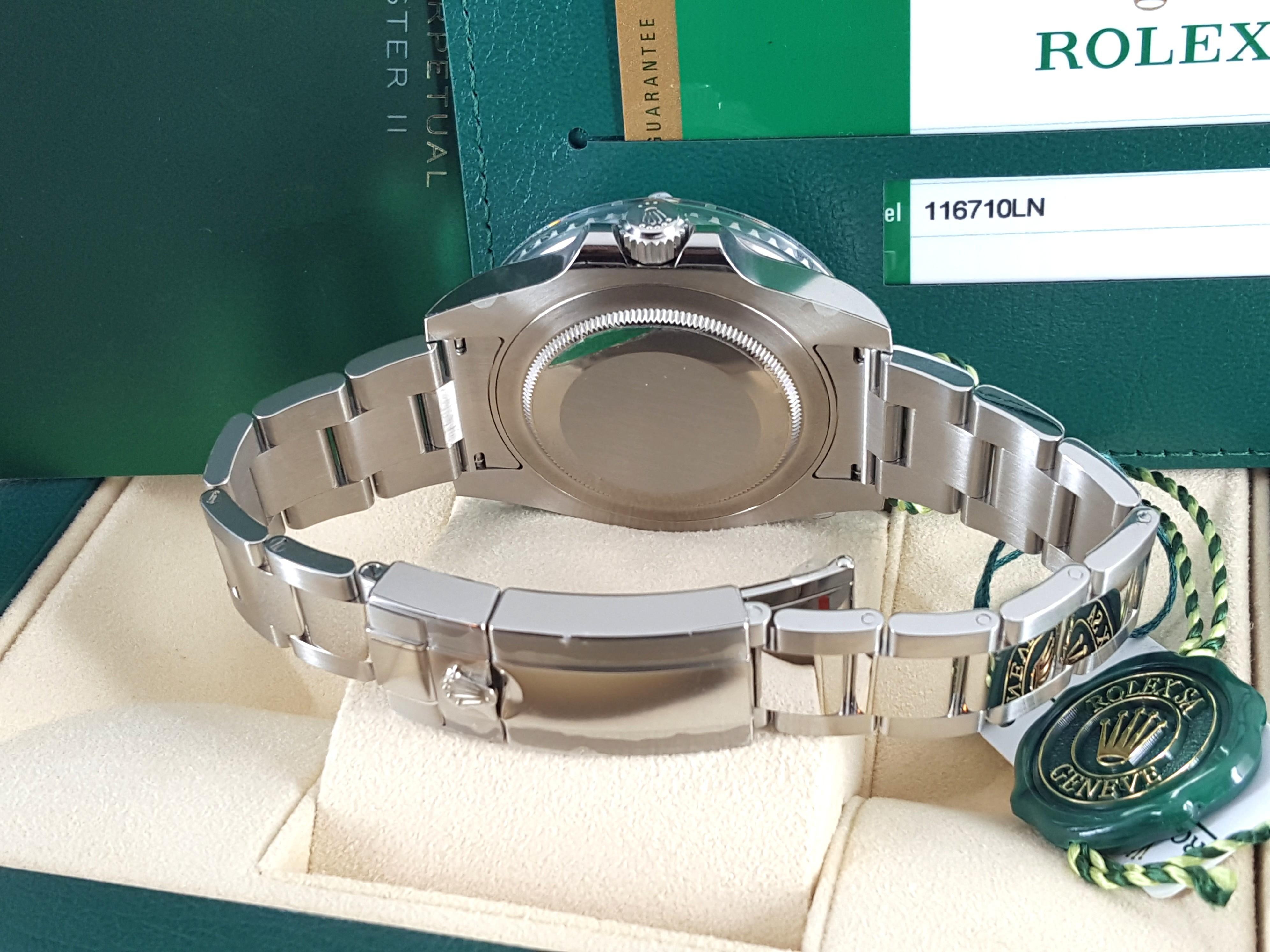 Unworn! Rolex 116710LN GMT Master II Ceramic