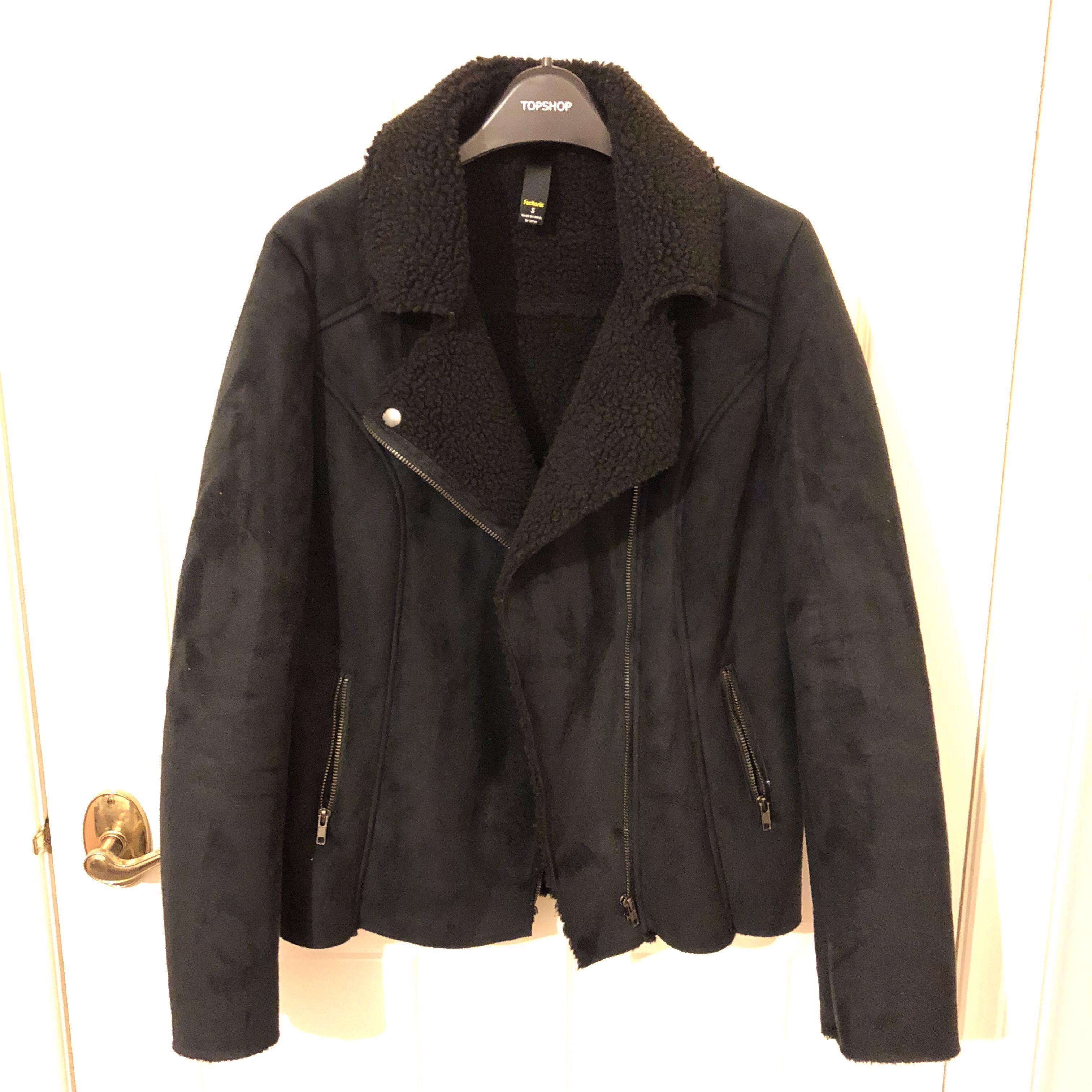 Warm black jacket