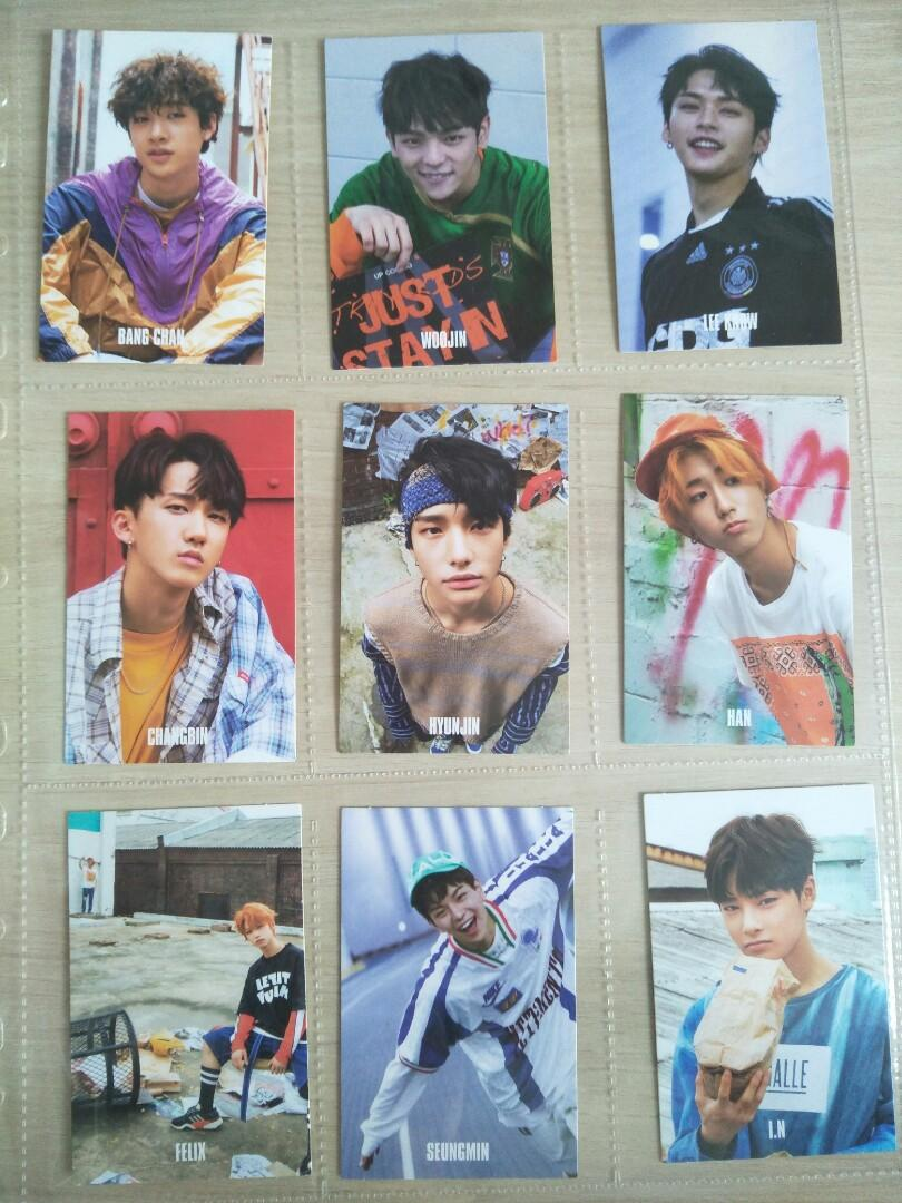 wts stray kids i am who photocards, Entertainment, K-Wave on