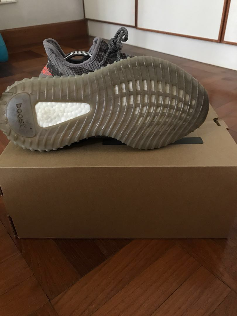 separation shoes a5278 882fe WTS WTT US 7 Adidas Yeezy Boost 350 V2 Beluga 1.0 OG, Women s Fashion, Shoes,  Sneakers on Carousell