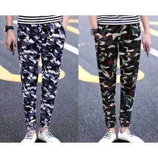 🔥Army Camo Joggers Long Pants Men Women Korean Fashion🔥