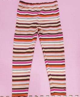"""Celana legging garis"""", anak 4th"""