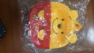 Winnie the Pooh Disney背包 backpack 毛毛 全新